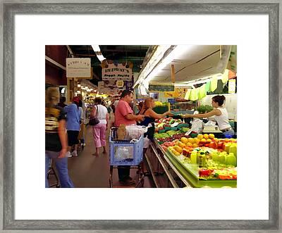 Allentown Pa Farmers Market Framed Print