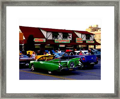 Allentown Pa Meetin' At The Ritz Framed Print