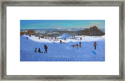 Allestree Park Derby Framed Print by Andrew Macara