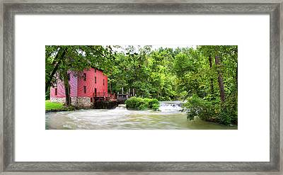 Alley Spring And Mill, Ozark National Framed Print by Panoramic Images