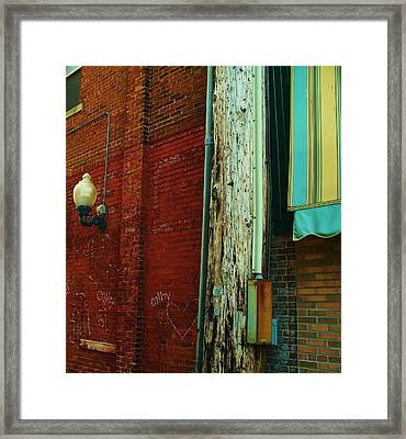 Alley Framed Print
