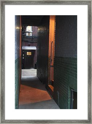 Alley Way Framed Print by Gretchen Lally