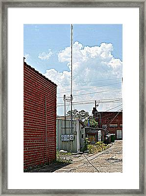 Alleyway Framed Print by Beverly Hammond