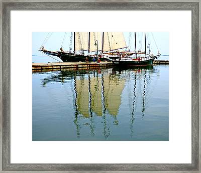 Alliance And Serenity Framed Print