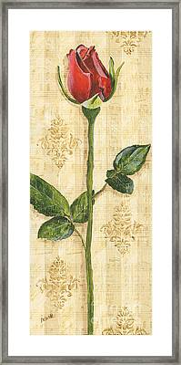 Allie's Rose Sonata 1 Framed Print by Debbie DeWitt
