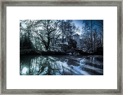 Allington Castle Framed Print by Dawn OConnor