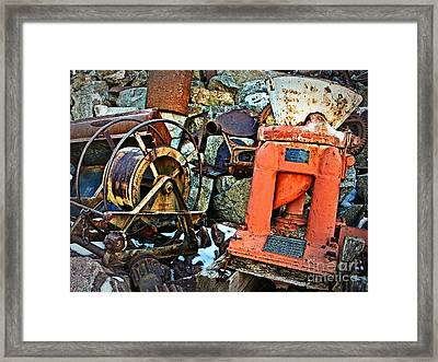 Allis Chalmers 1898 Framed Print by Lee Craig