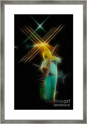 Allman-dickie-95-ga14a-fractal Framed Print by Gary Gingrich Galleries