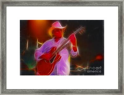 Allman-dickie-95-gb21-fractal Framed Print by Gary Gingrich Galleries