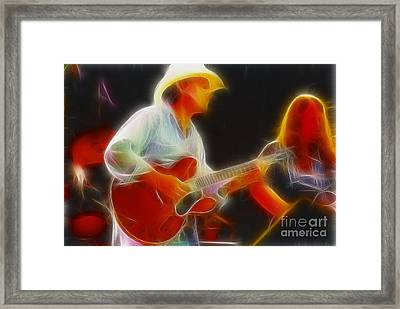 Allman-dickie-95-gc2-fractal Framed Print by Gary Gingrich Galleries