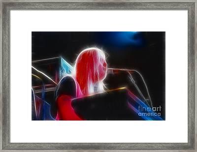 Allman-greg-95-gb9-fractal Framed Print by Gary Gingrich Galleries