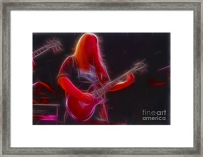 Allman-warren-95-gb3-fractal Framed Print by Gary Gingrich Galleries