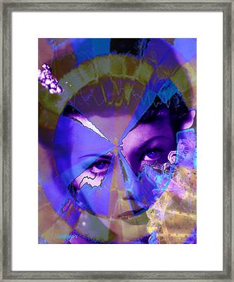 Allure Framed Print by Seth Weaver