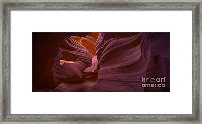 Alluring Beauty Panoramic Framed Print by Marco Crupi
