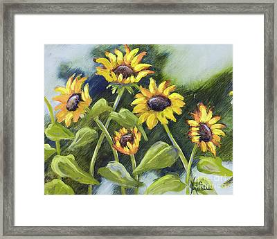 Alluring Sunnies  Framed Print by Vic  Mastis