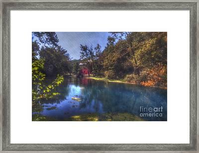 Ally Springs Mill  The Fall Framed Print