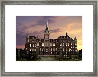 Alma Lights Framed Print by Tom Straub