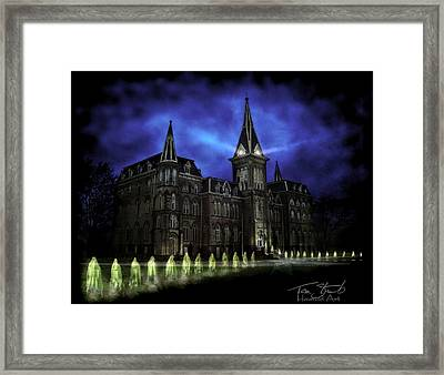 Alma Nuns Framed Print by Tom Straub