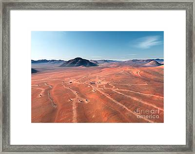 Alma Site Framed Print by Paul Fearn