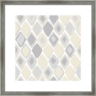Almas Diamond Pure Framed Print by Sharon Turner