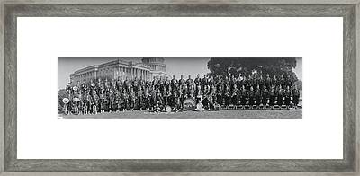 Almas Temple Band Washington Dc Framed Print