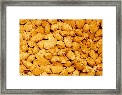 Almonds Framed Print