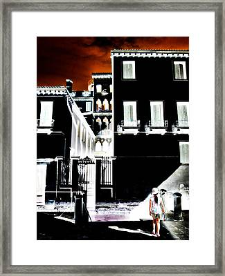 Almost Awake  Framed Print