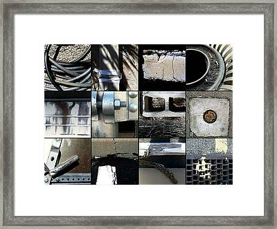 Almost Black And White Framed Print by Marlene Burns