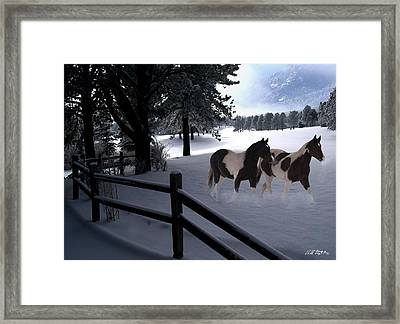 Almost Christmas Framed Print