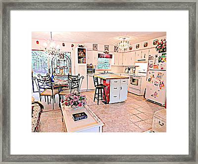 Almost Dinner Time At Rosewood Framed Print