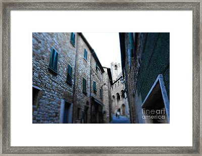 Almost Eight O Clock Framed Print by Ramona Matei