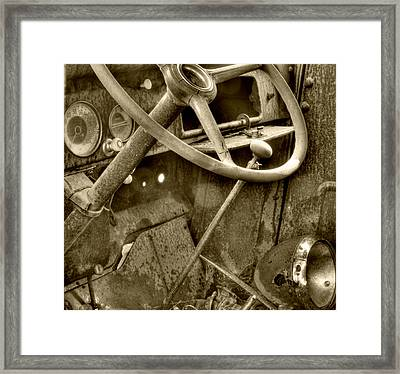 Almost Gone Sepia Framed Print by Thomas Young