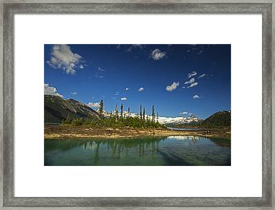 Almost Heaven Framed Print by Aaron Bedell