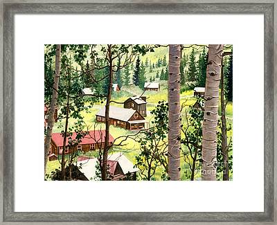 Almost Heaven Framed Print by Barbara Jewell