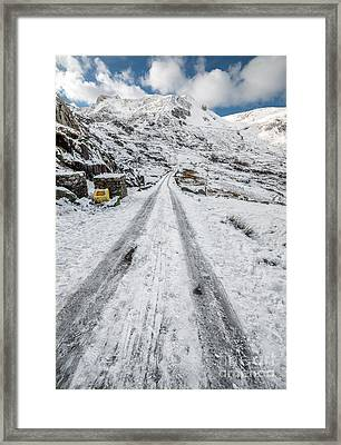 Almost Home Framed Print by Adrian Evans
