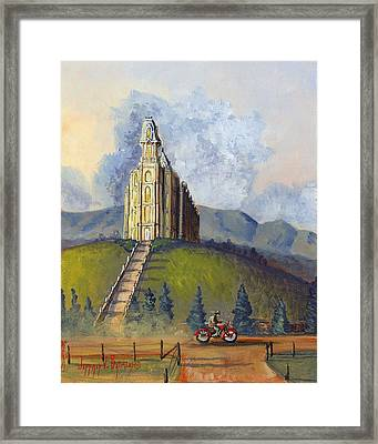 Almost Home Framed Print by Jeff Brimley