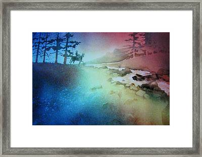 Almost Home Framed Print by John  Svenson