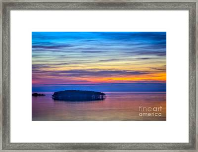 Almost Infinity Framed Print by Marvin Spates