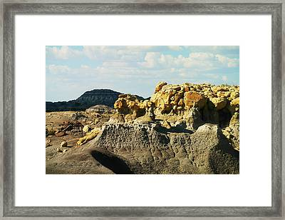 Almost Moonscape Framed Print by Jeff Swan