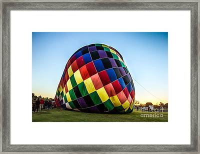Almost Ready To Launch Framed Print by Robert Bales