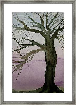 Framed Print featuring the painting Almost Spring by Beverley Harper Tinsley