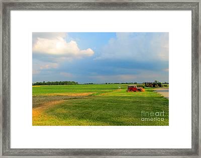 Almost Summer Landscape Framed Print