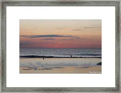 Framed Print featuring the photograph Almost Sunrise by Robert Banach