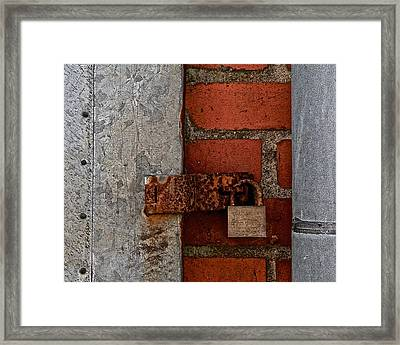 Almost There Again Framed Print by Odd Jeppesen