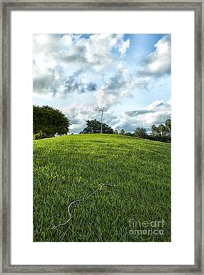 Almost There Framed Print by Eyzen M Kim