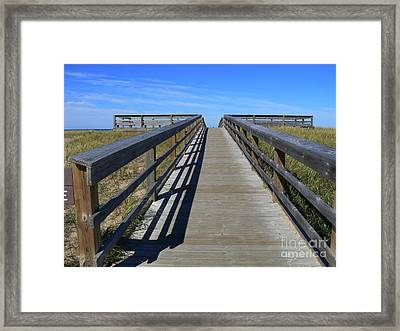Almost There Framed Print by Lin Haring