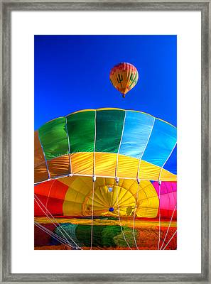Almost There Framed Print by Tom Weisbrook