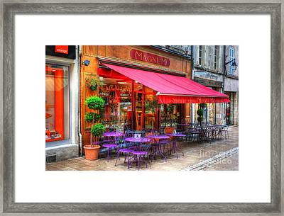 Almost Wine Time Framed Print by Mel Steinhauer