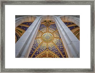 Almudena Cathedral Interior Framed Print
