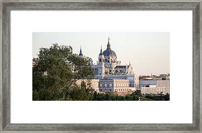 Almudena Church Madrid Framed Print